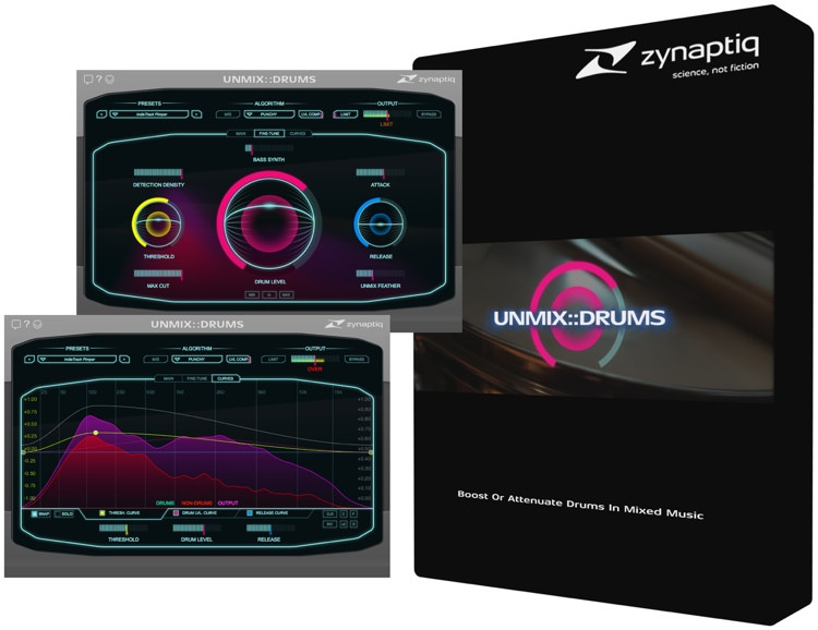 Zynaptiq UNMIX::DRUMS - Plug-in image 1