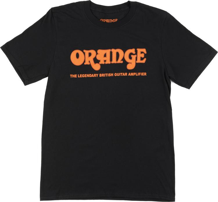 Orange Retro T-Shirt, Black, 3XL image 1