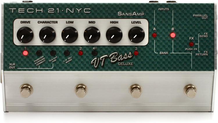 Tech 21 SansAmp Character Series VT Bass Deluxe image 1