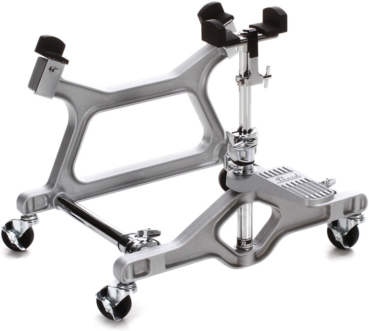 Pearl Concert Bass Drum Stand - Black image 1