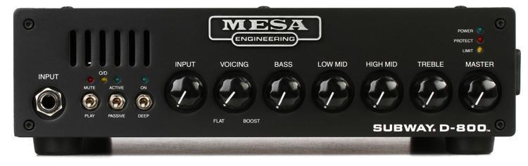 Mesa/Boogie Subway D-800 Lightweight 800-watt Bass Head image 1