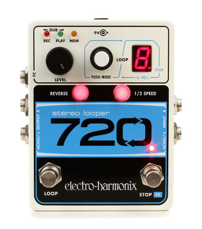 Electro-Harmonix 720 Stereo Looper Pedal image 1
