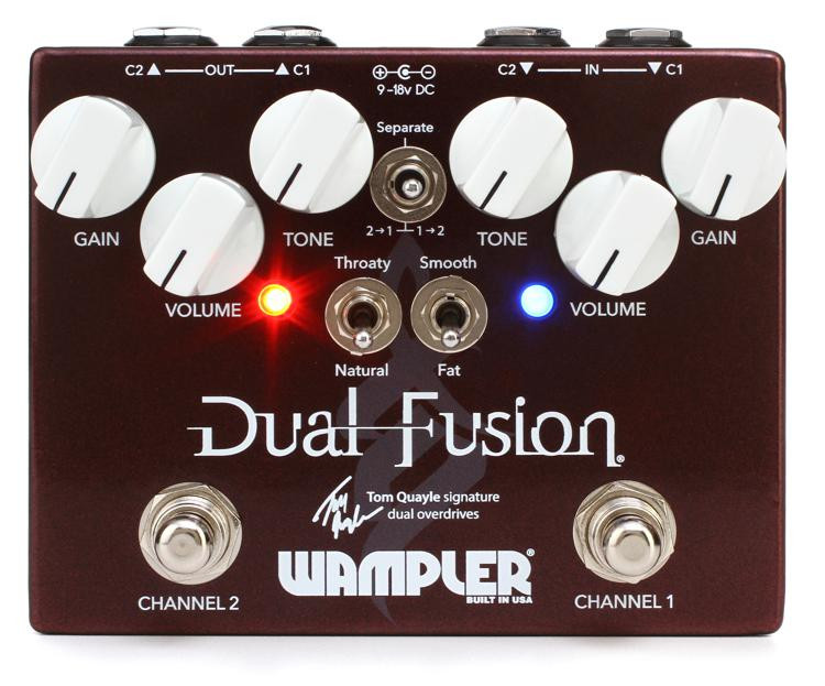 Wampler Tom Quayle Dual Fusion Overdrive Pedal image 1