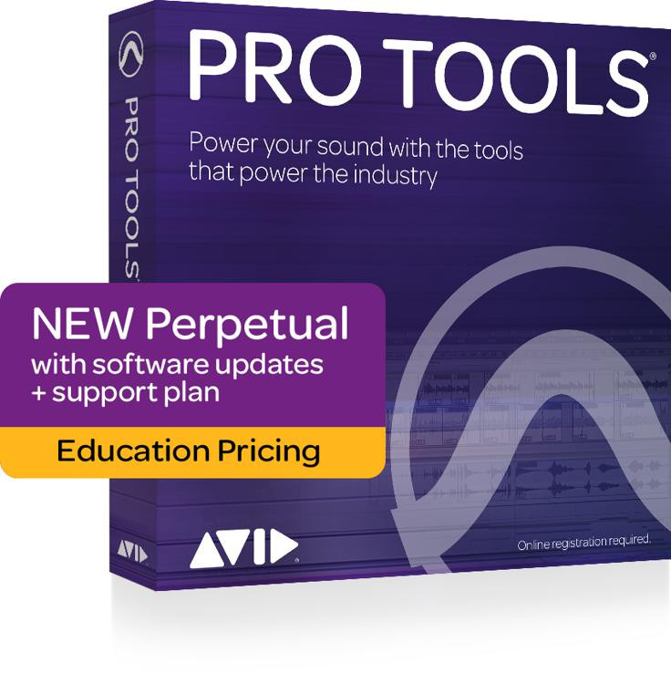 Avid Pro Tools 12 Software for Teachers/College Students (boxed - includes iLok) image 1