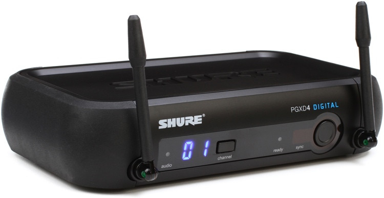 Shure PGXD4 Wireless Receiver - X8 Band image 1