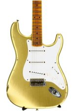 Fender Custom Shop 1955 Relic Stratocaster Ltd. Ed. - HLE Gold with Maple Fingerboard