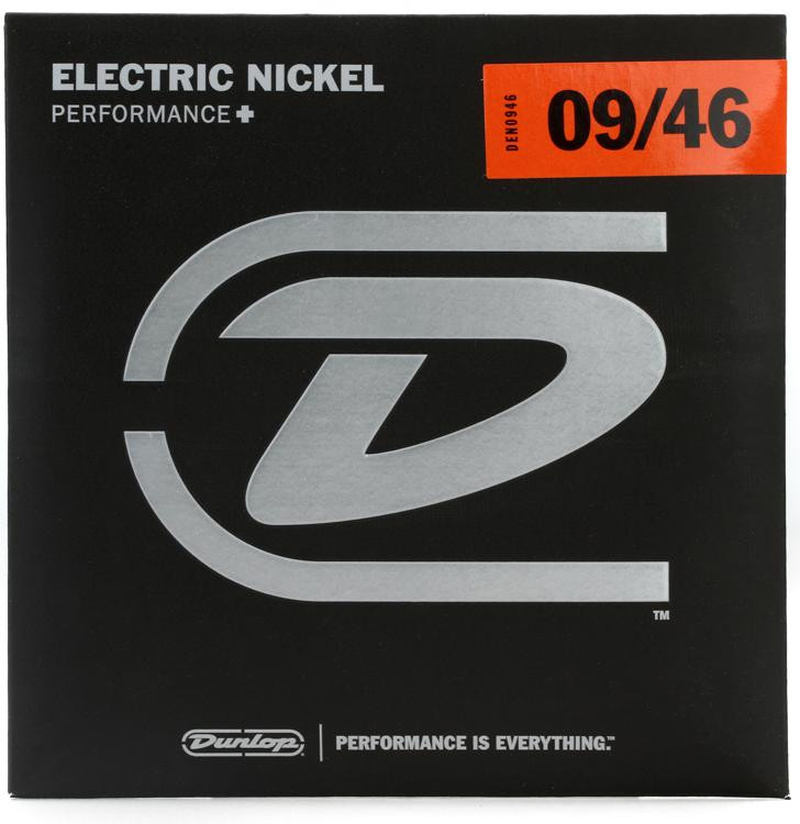Dunlop DEN0946 Nickel Plated Steel Electric Strings - .009-.046 Lt Top/Hvy Bottom image 1