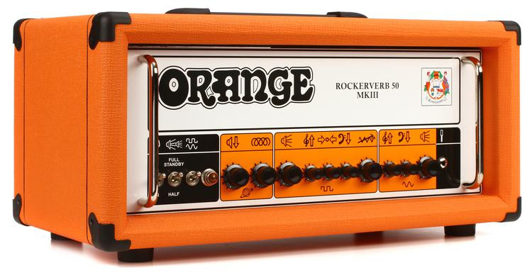 Orange Rockerverb 50 MKIII - 50-watt 2-channel Tube Head image 1