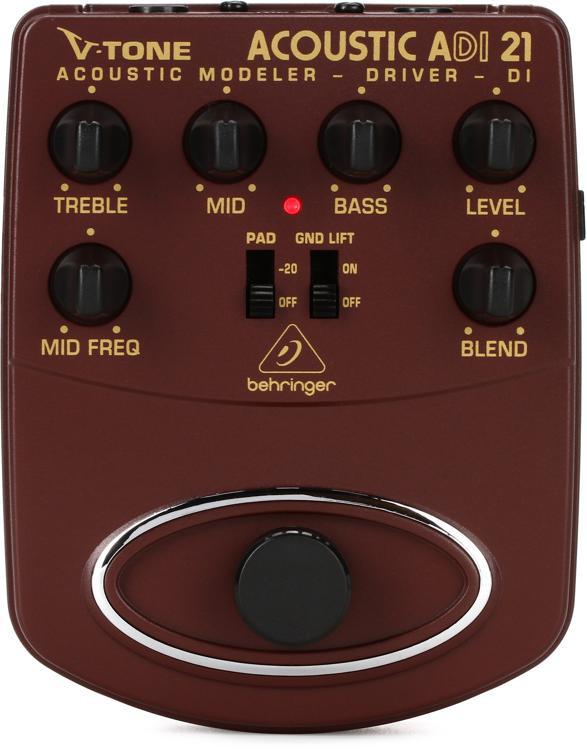 Behringer ADI21 V-Tone Acoustic Driver DI Pedal image 1
