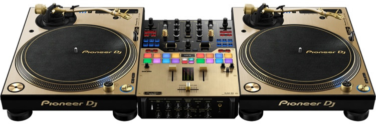 PLX-1000/DJM-S9 DJ System - Limited-edition Gold