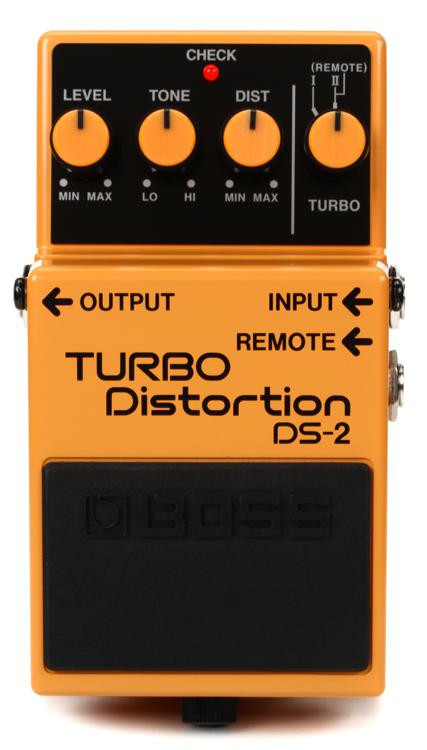 Boss DS-2 Turbo Distortion Pedal image 1