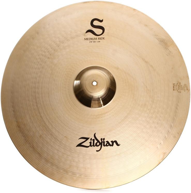 Zildjian S Series Medium Ride Cymbal - 24
