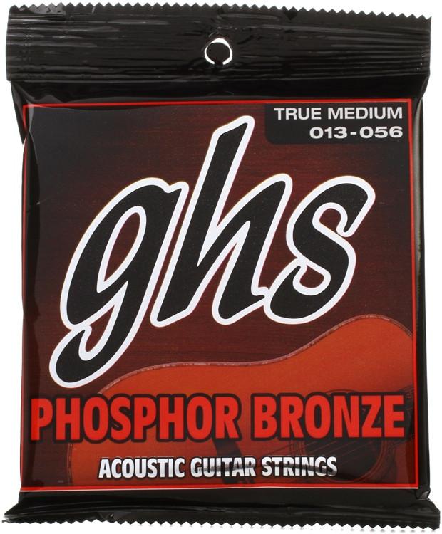 GHS TM335 Phosphor Bronze True Medium Acoustic Guitar Strings image 1
