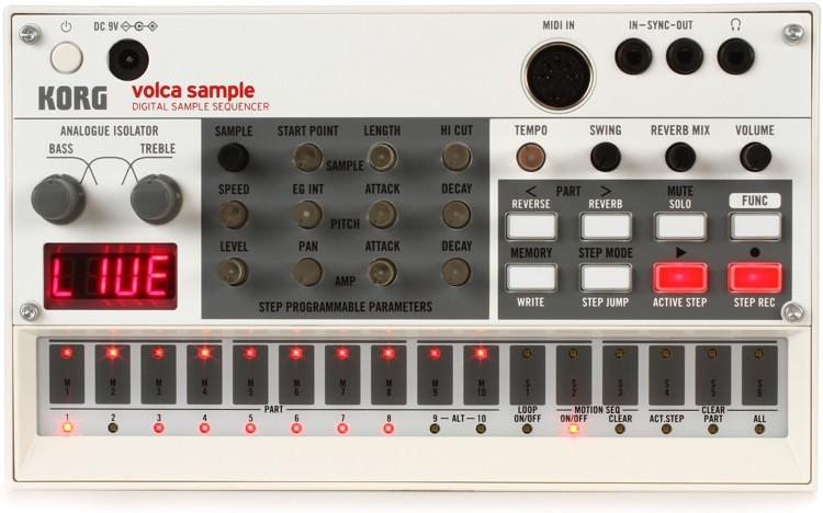 Korg Volca Sample Digital Sample Sequencer image 1