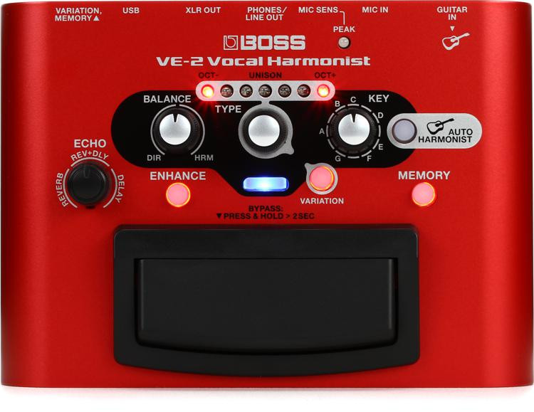 Boss VE-2 Portable Vocal Processor image 1