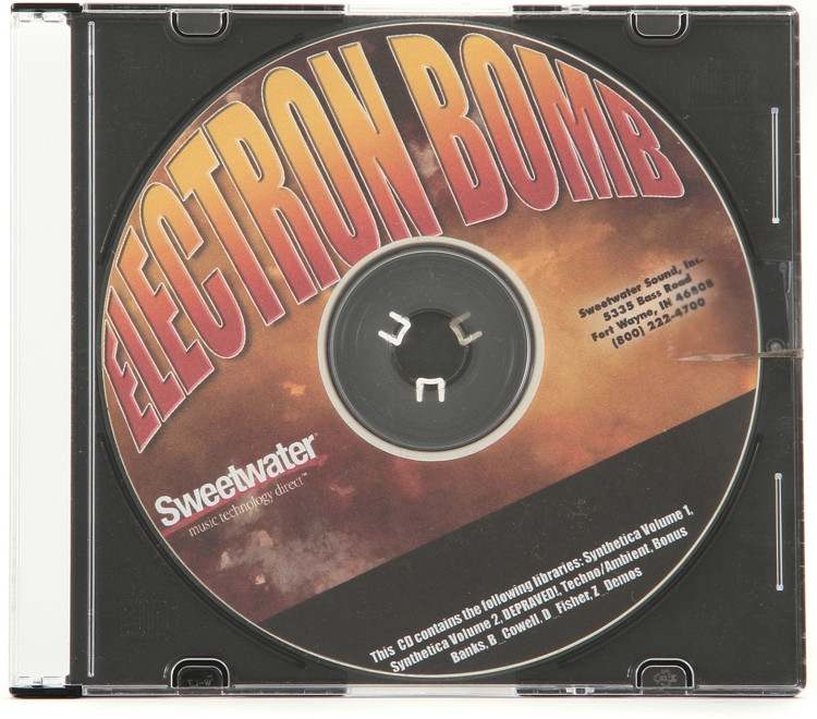Sweetwater Electron Bomb CD image 1