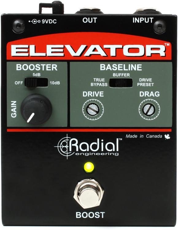 Radial Tonebone Elevator Dual Mode Class-A Buffer Pedal image 1