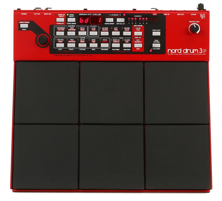Nord Modeling Percussion Synthesizer Multi-pad image 1