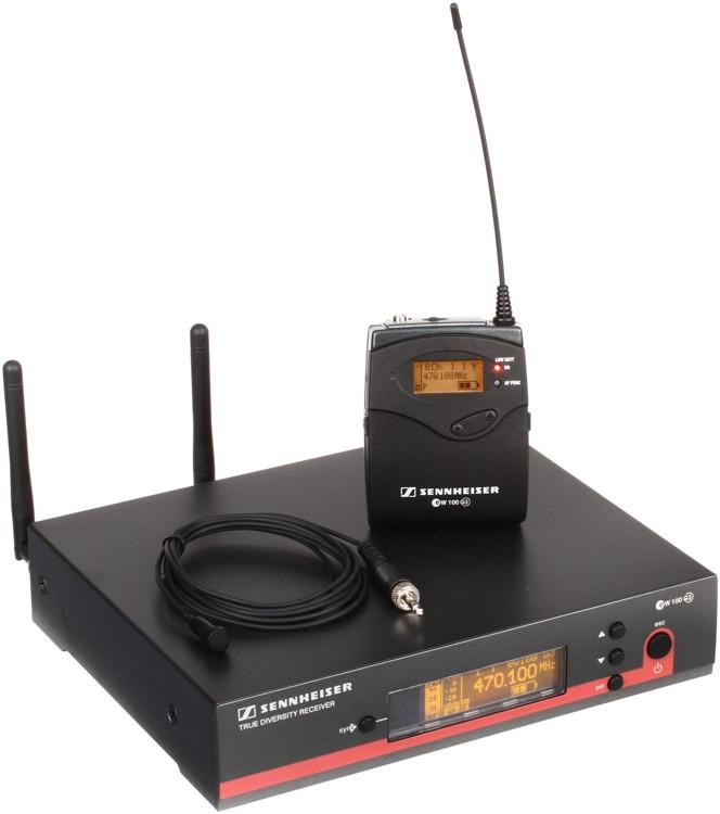 Sennheiser EW 112 G3 Wireless Lavalier System - A-1 Band image 1