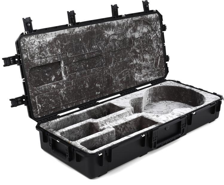 SKB Waterproof Jumbo Acoustic Guitar Case - Black image 1