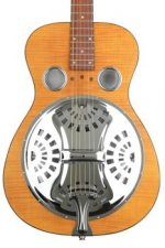 Epiphone Dobro Hound Dog Deluxe Round Neck - Vintage Brown