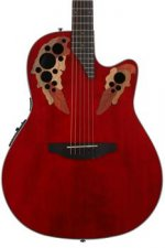 Ovation Elite Celebrity - Ruby Red
