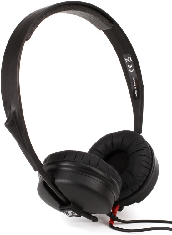 Sennheiser HD 25 Light Lightweight On-ear Studio Headphones image 1