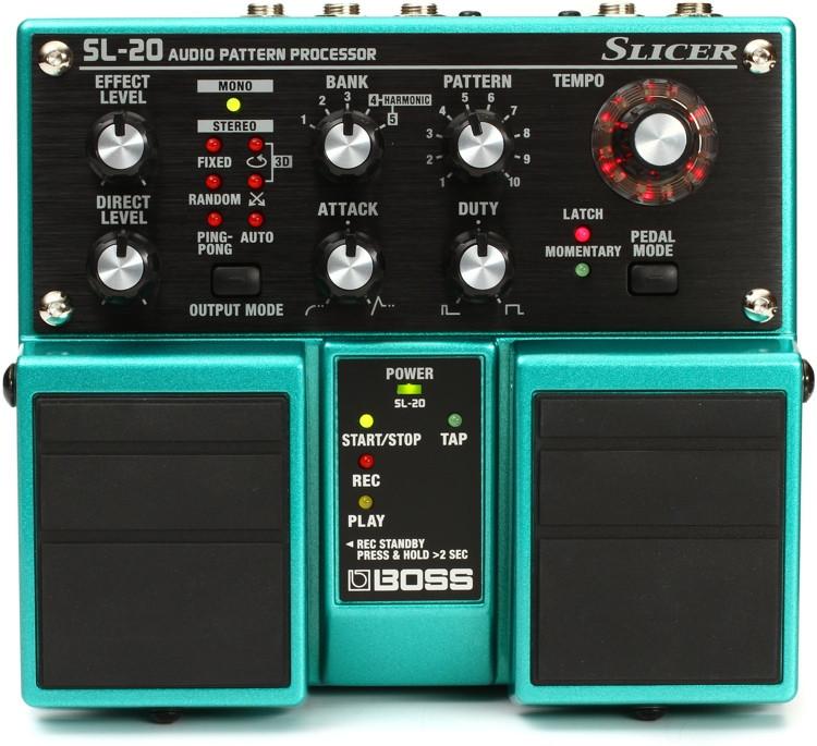 Boss SL-20 Slicer Audio Pattern Processor Pedal image 1