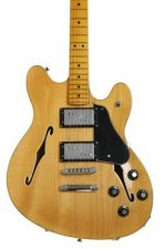 Fender Modern Player Starcaster - Natural