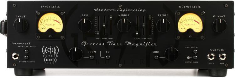 Geezer Butler Head of Doom 600-watt Bass Head