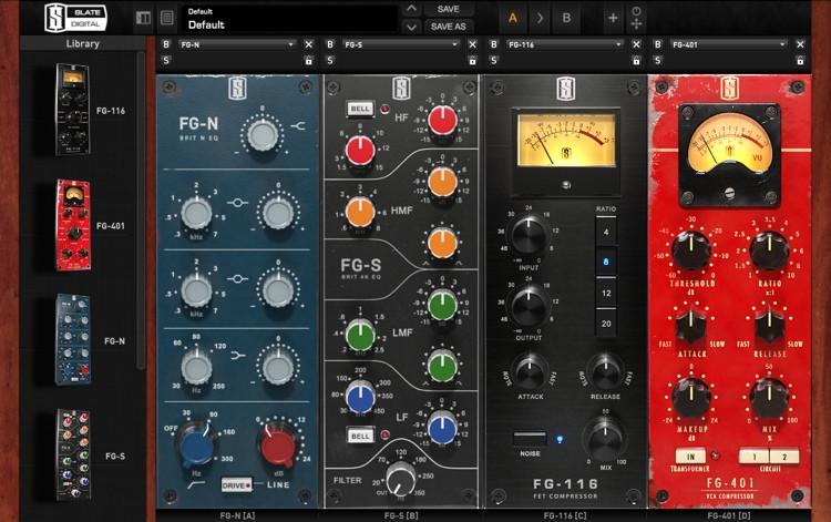 Slate Digital VMR Virtual Mix Rack Plug-in Bundle (boxed) image 1