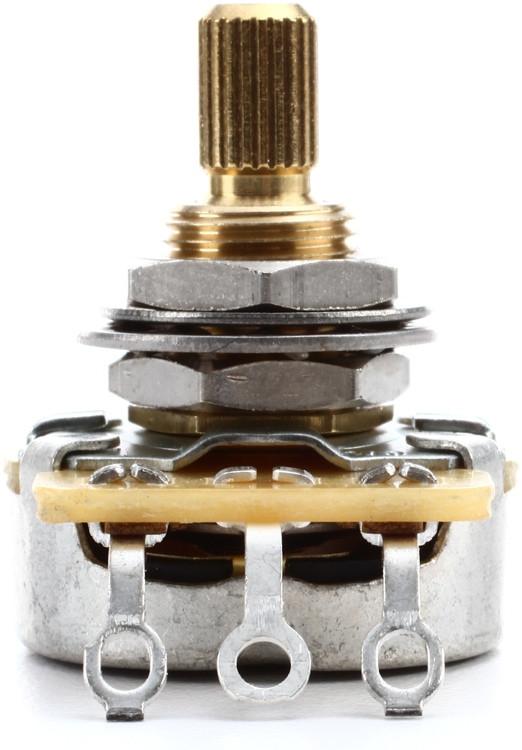 Emerson Custom Pro CTS Potentiometer - 250K Short Split Shaft Blender image 1