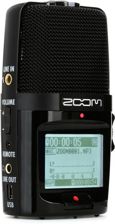 Zoom H2n Handy Recorder Sweetwater