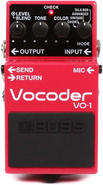 Boss VO-1 Vocoder Pedal image 1