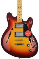 Fender Modern Player Starcaster - Aged Cherry Sunburst