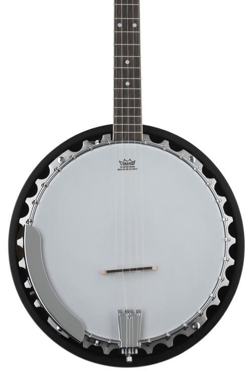 Washburn B9 5-string Banjo - Natural image 1