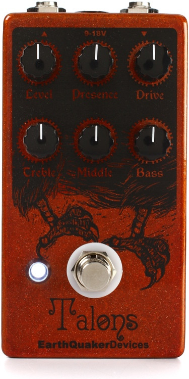EarthQuaker Devices Talons Overdrive Pedal image 1