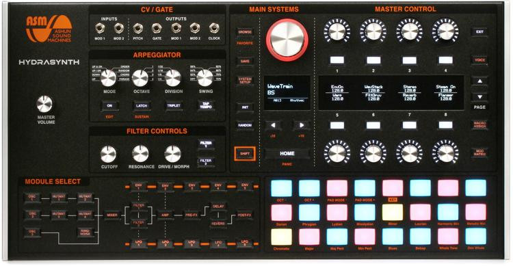 Hydrasynth Desktop 8-voice Polyphonic Wave Morphing Synthesizer