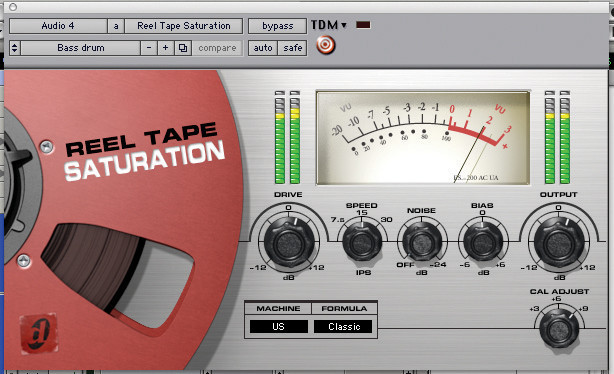 Avid Reel Tape Saturation Plug-in image 1