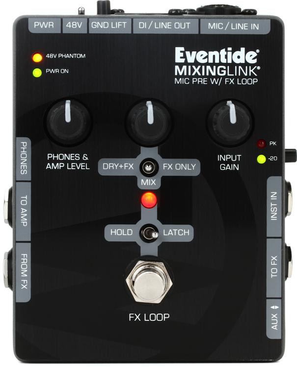 Eventide Mixing Link - Preamp and FX Loop image 1