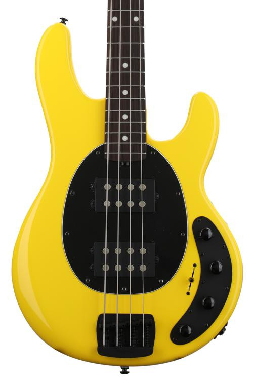 ernie ball music man stingray special 4 hh hd yellow with rosewood fingerboard sweetwater. Black Bedroom Furniture Sets. Home Design Ideas