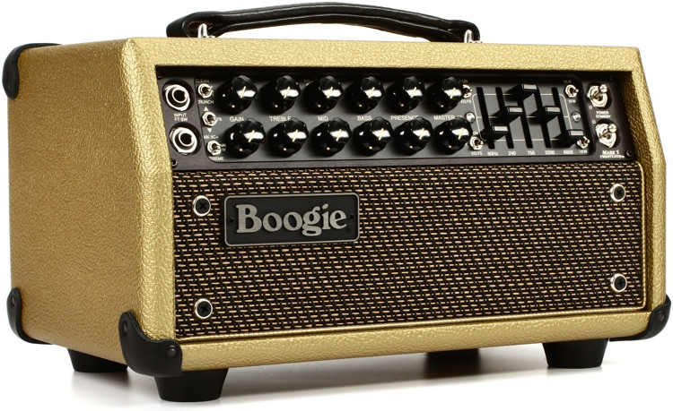 Mesa/Boogie Mark Five:25 - 25/10-watt Tube Head - Gold with Gold Grille image 1