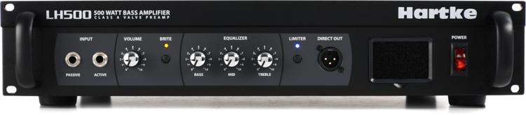 Hartke LH500 500-Watt Bass Head image 1