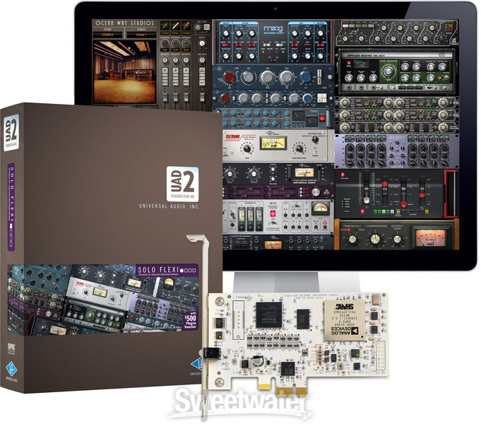 universal audio uad 2 solo flexi sweetwater. Black Bedroom Furniture Sets. Home Design Ideas