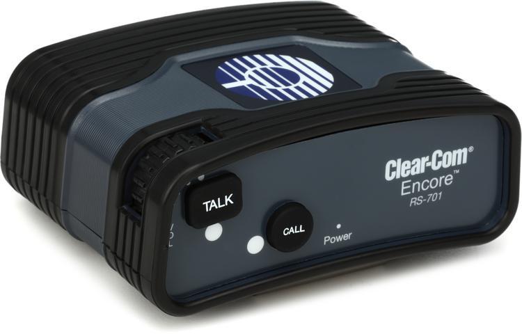 Clear-Com RS-701 Single-channel Standard Beltpack image 1