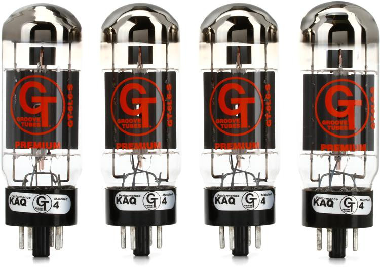 Groove Tubes GT-6L6S Select Power Tubes - Medium Quartet image 1