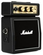 Marshall MS-2 - 1W Battery-powered Black Micro Amp