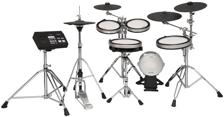 Yamaha DTX760HWK Electronic Drum Set image 1