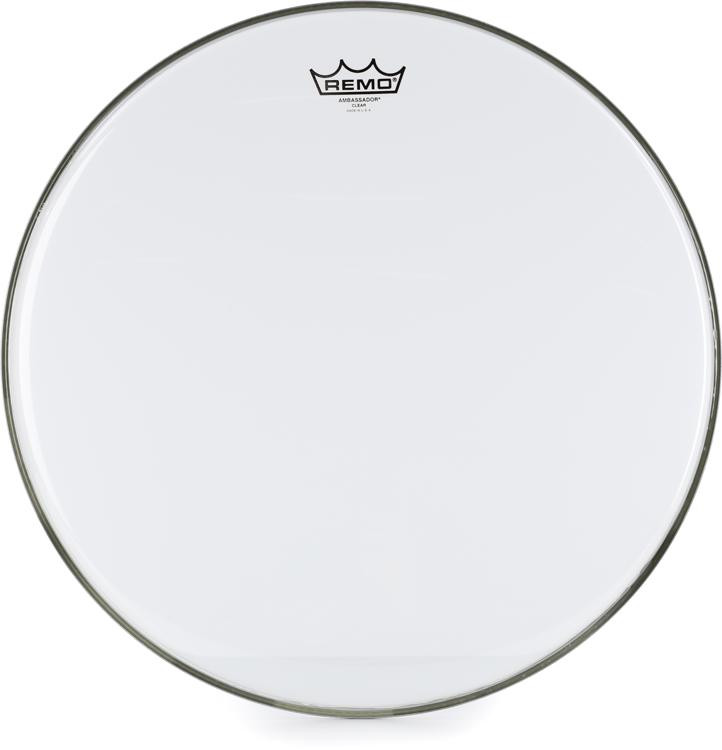 Remo Clear Ambassador Drum Head - 18