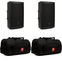 JBL EON615 Speaker Pair with Bags